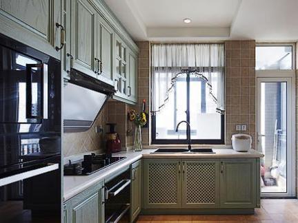 现代4平米厨房橱柜效果图