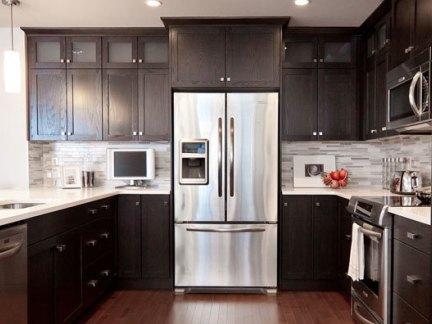 家庭装修设计厨房效果图大全