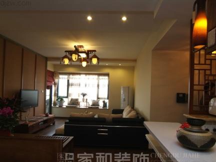 新中式风格装修案例--家和装饰作品