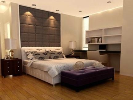 船木地板卧室装修