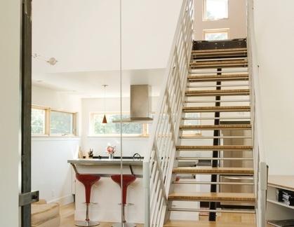 阁楼伸缩楼梯设计效果图
