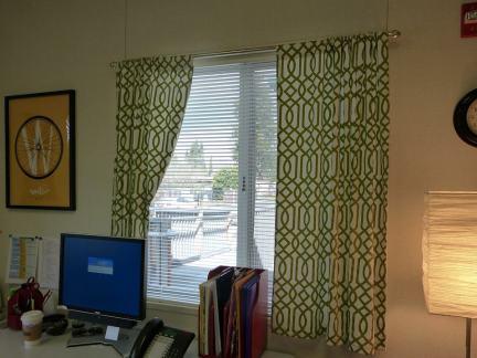 现代家居办公室窗帘