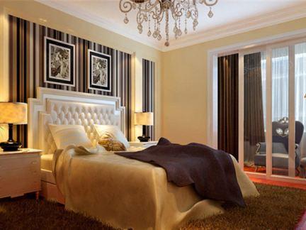 中兴样板房卧室效果图 - 雅庭装饰