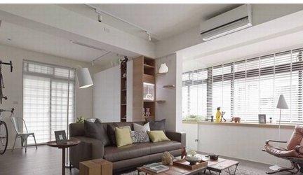 新古典60平小二房客厅装修效果图