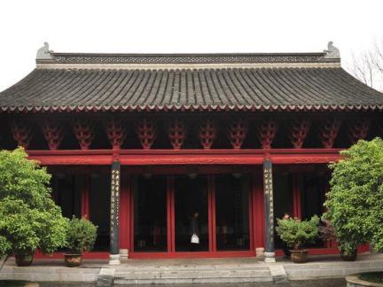 祠堂房子图片