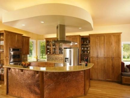 家庭装修设计厨房效果图大全欣赏2014