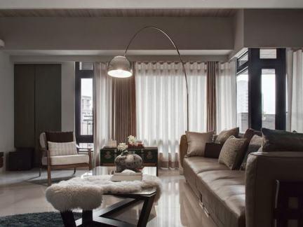 简约室内装修风格客厅设计案例