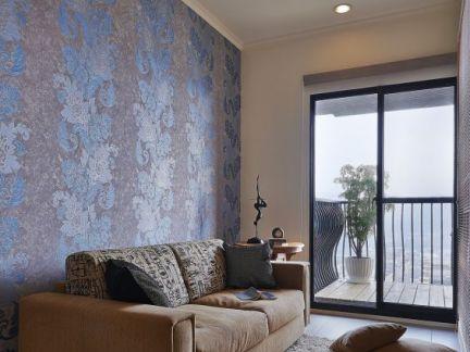 美式风格室内沙发背景墙图片大全