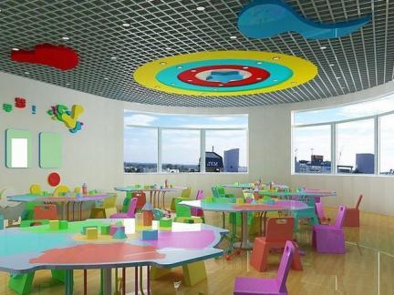 幼儿园最新环境设计室内吊顶图片
