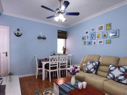 地中海家装客厅图片