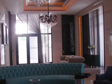 豪华别墅客厅装修效果图2014图片