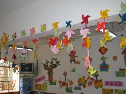 幼儿园教室环境布置室内效果图