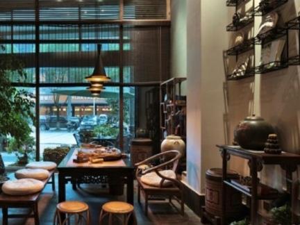 手绘茶室设计图-2018橱窗设计手绘效果图 房天下装修效果图
