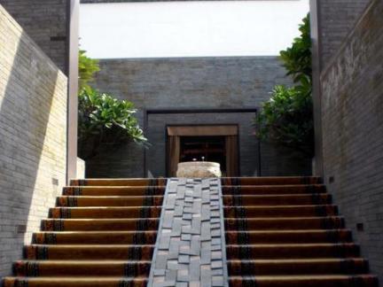 新中式建筑台阶图片图片
