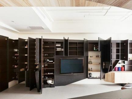 现代设计家庭电视背景墙图片大全