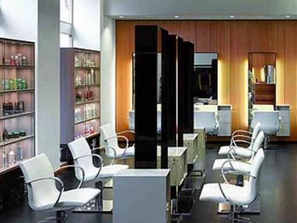 美发店设计室内吧台效果图片图片