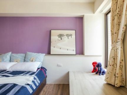 日式装饰设计卧室窗帘效果图