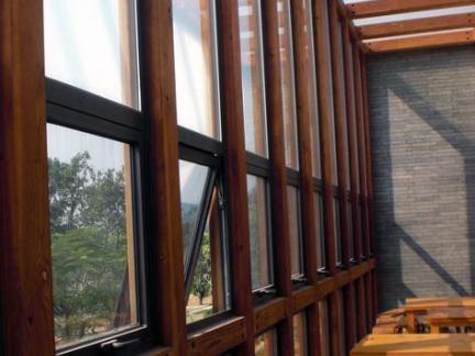 新中式建筑室内窗户图片图片