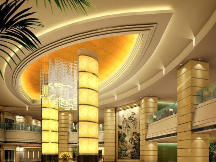 酒店大厅吊顶装修设计效果图片欣赏2015