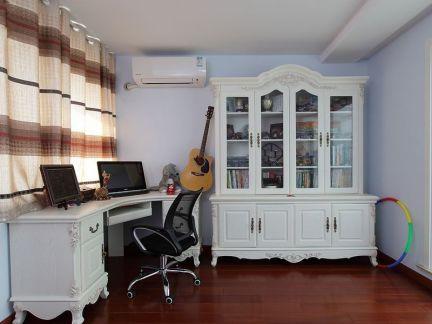 简欧室内设计书房图片