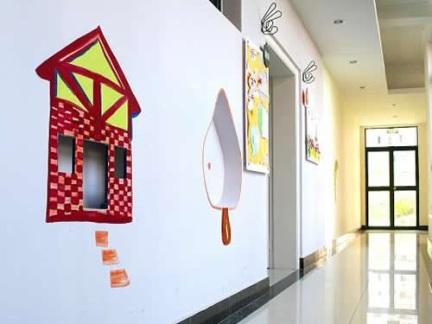 幼儿园走廊墙面布置
