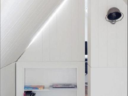 室内装修隐形门效果图