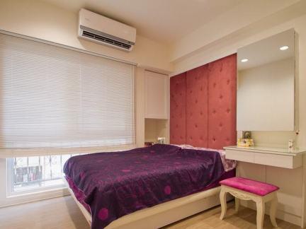 12平米简约风格卧室室内效果图片
