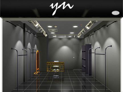 20平米服装店设计效果图