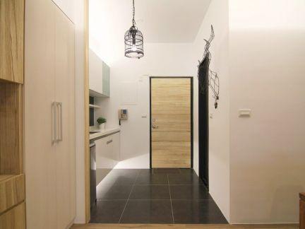 现代小公寓室内效果图
