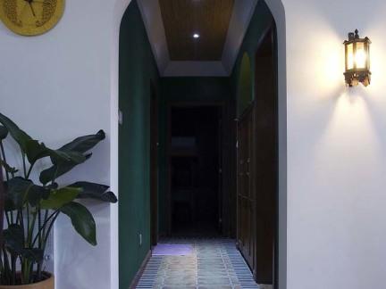 东南亚风格室内垭口设计