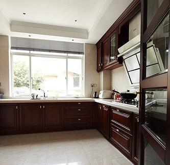 家居长厨房装修效果图片 - 良工装饰