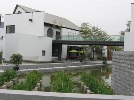 新中式建筑别墅图片