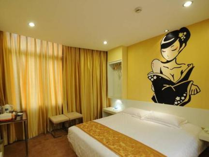宾馆房间室内装饰设计效果图