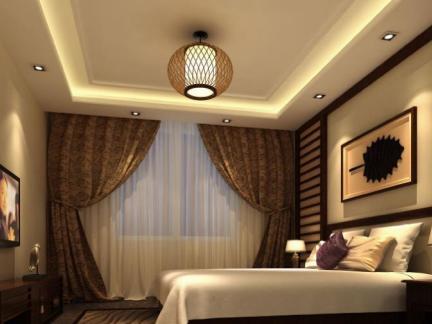 宾馆卧室装修设计图片