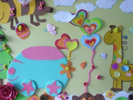 幼儿园主题墙面设计