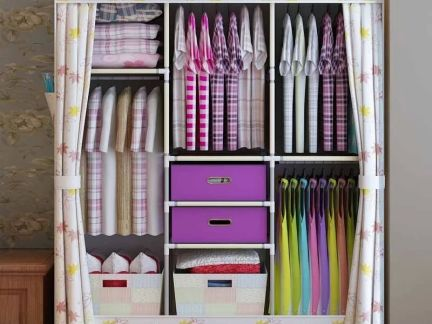 布衣柜摆置图