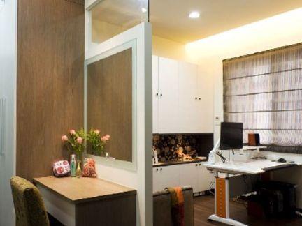 现代风格隔断空间利用设计装修