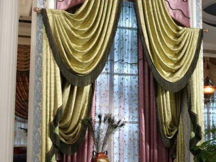 中国窗幔窗帘装修图