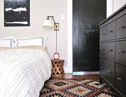 卧室手工地毯图片