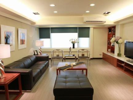 88平米现代二室一厅家装效果图