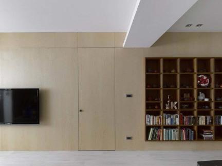日式家庭装修设计电视背景墙图片