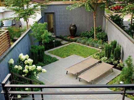 2018私家庭院景观设计 房天下装修效果图