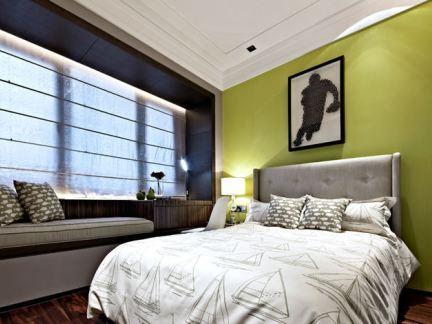 简欧设计装修10平米卧室效果图