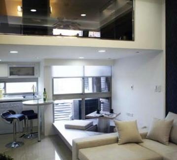 简约现代装修设计样板房效果图欣赏