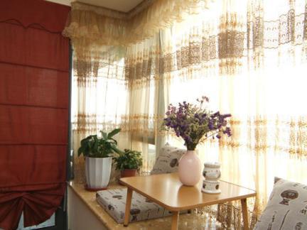 新中式风格飘窗榻榻米装修案例--家和装饰作品