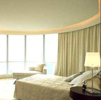 梁景华作品--广州东湖御苑顶层复式豪宅卧室