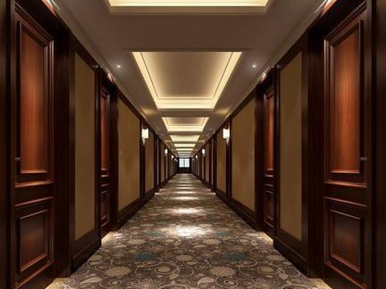 酒店过道效果图高清图片