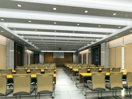 会议室室内吊顶设计效果图