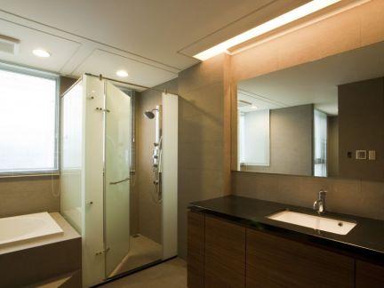 卫生间隐形隔断卫生间移门隔断图片2