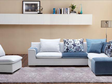 顾家家居布艺系列沙发图8-2018家居布艺沙发图片 房天下装修效果图图片